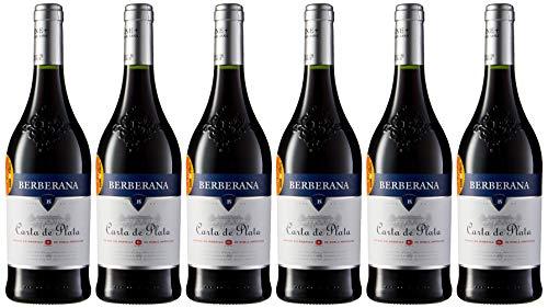 6 x Berberana Carta de Plata Vino tinto - 6 botellas de 750 ml
