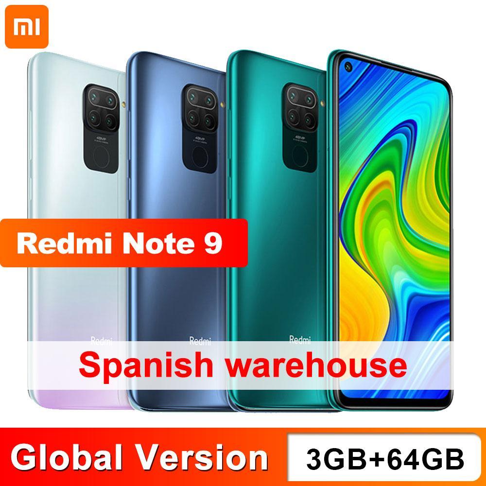Xiaomi Redmi Note 9 3/64GB Version Global ,Enviado Desde España
