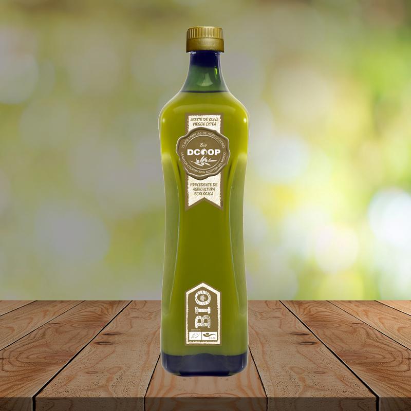 Aceite de Oliva Virgen Extra Ecológico Dcoop 3.19€/L y cupón de 3€ por cada 12€ de compra.