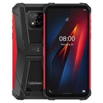 Ulefone Armor 8 IP68 IP69K 4GB 64GB NFC 5580mAh Helio P60 Octa Core Rugged Smartphone