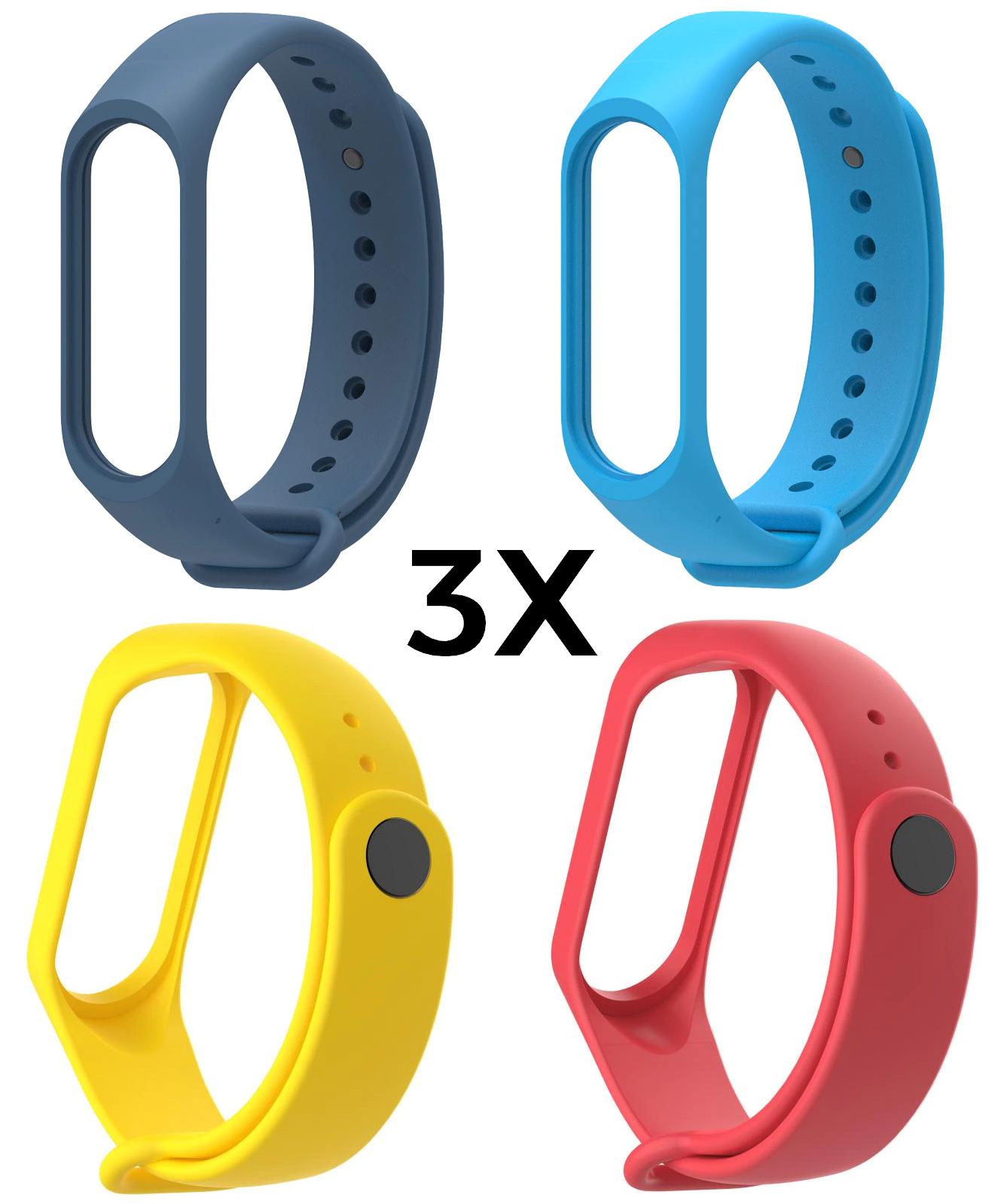 3x pulseras MiBand 4-5 solo 0.1€