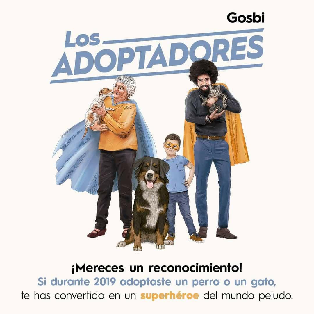 Kit de mascotas Gosbi gratis si has adoptado un perro/gato durante el 2019