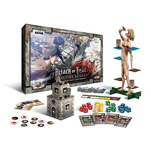 [MINIMO HISTORICO] Attack on Titan juego de mesa
