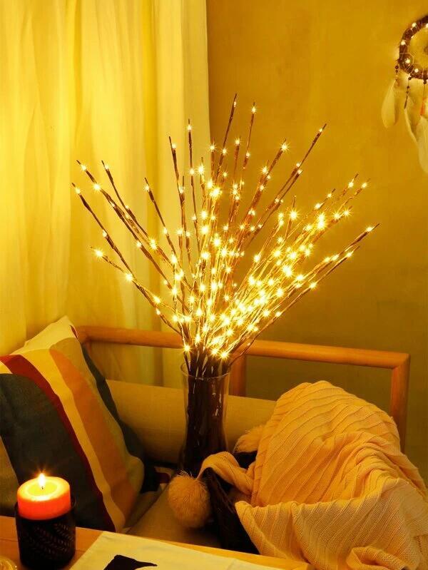 1 pieza luz con diseño de rama