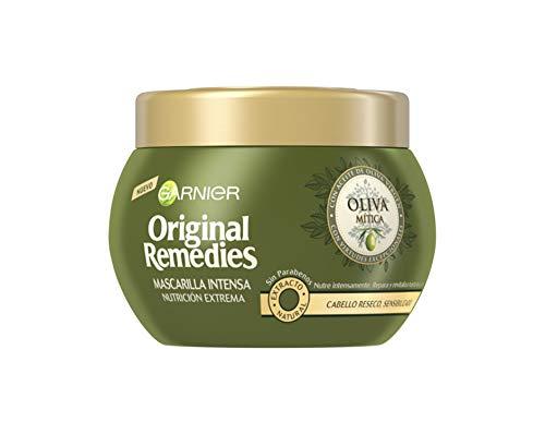 Garnier Original Remedies Oliva Mítica mascarilla capilar pelo seco - 300 ml [Compra recurrente]
