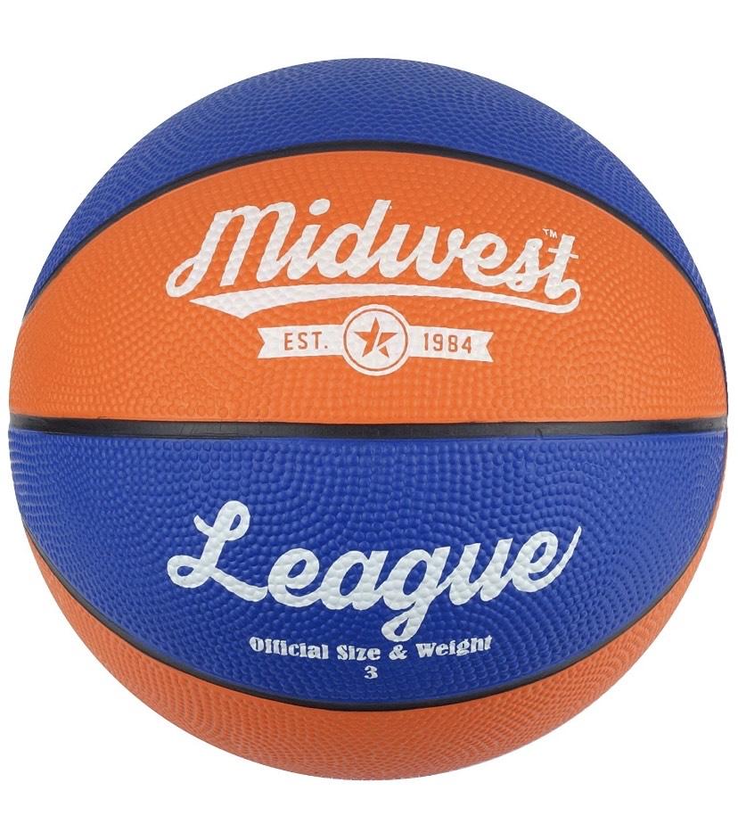 Midwest niños de la Liga de Baloncesto tamaño 3
