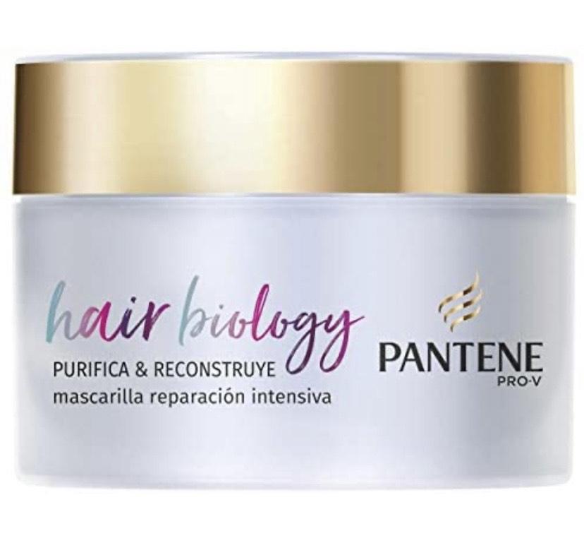 Pantene Pro-V Hair Biology Purifica & Reconstruye Mascarilla 160 ml,