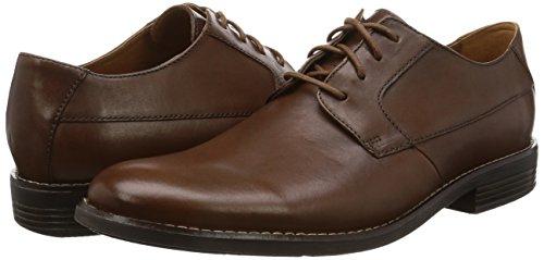 TALLA 40 - Clarks Becken Plain, Zapatos de Cordones Derby para Hombre