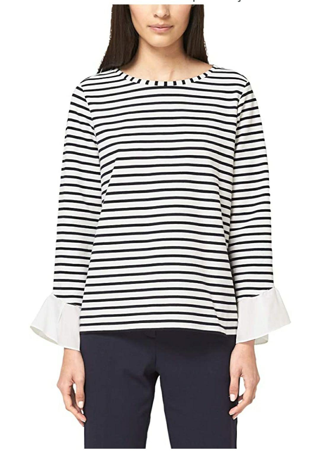 TALLA 38 - s.Oliver BLACK LABEL Camiseta para Mujer