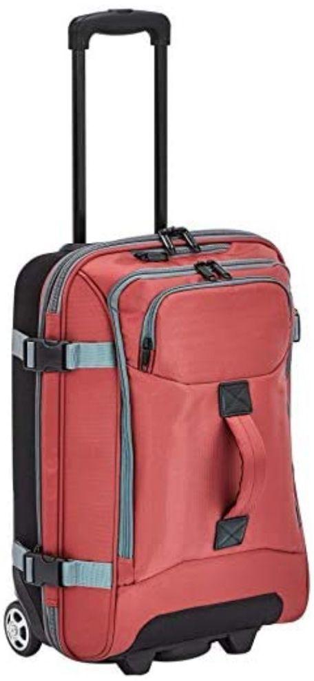 Bolsa de viaje con ruedas, Rojo (Precio Mínimo)