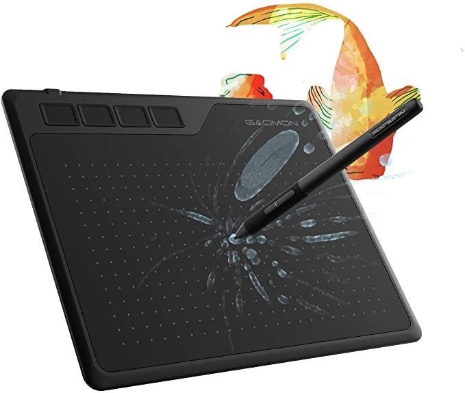 Tableta gráfica , barata y útil para dar clases a los que estan confinados.