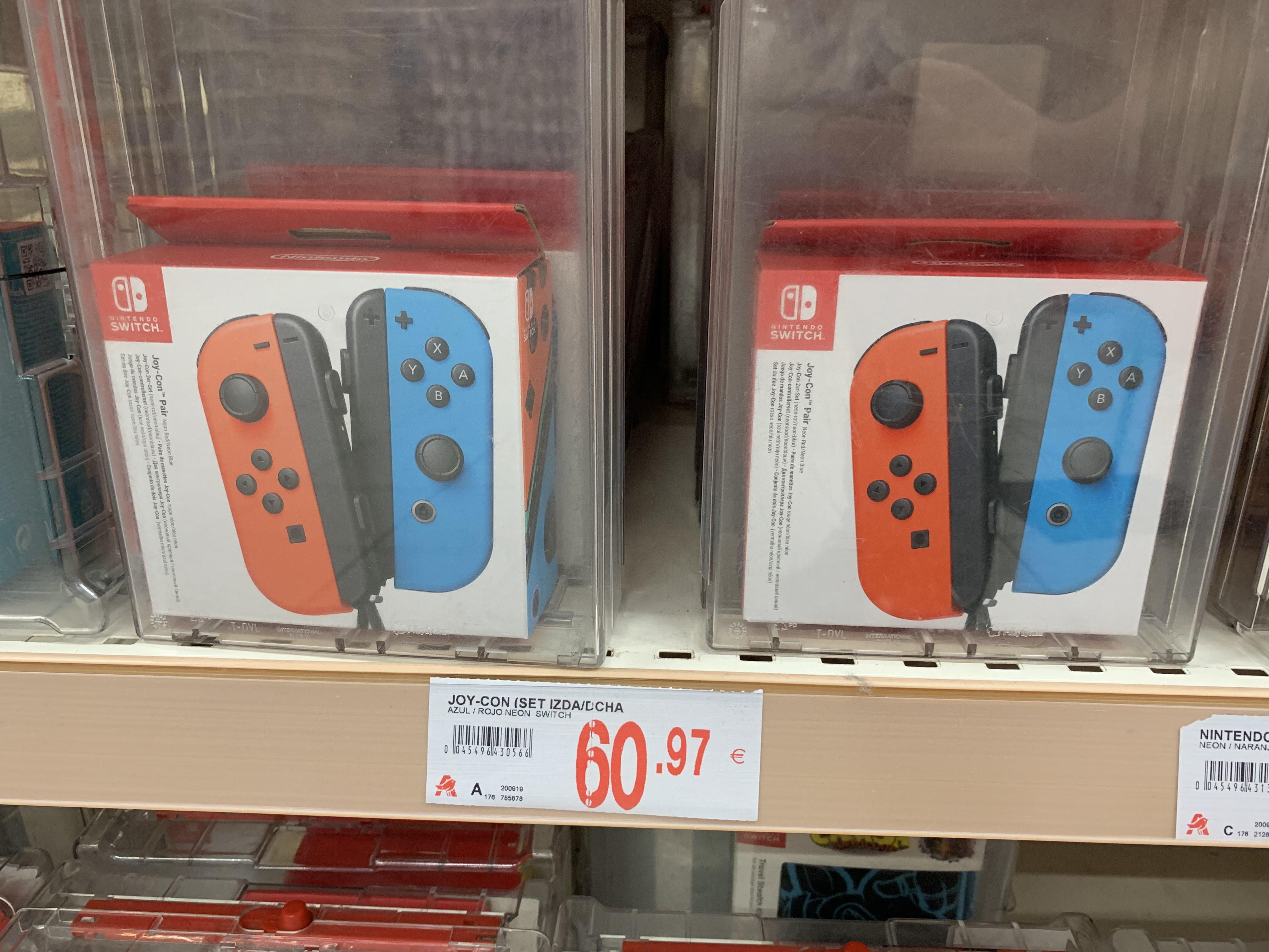 Nintendo Switch set Joy-Cons Rojo/Azul (Alcampo Murcia)
