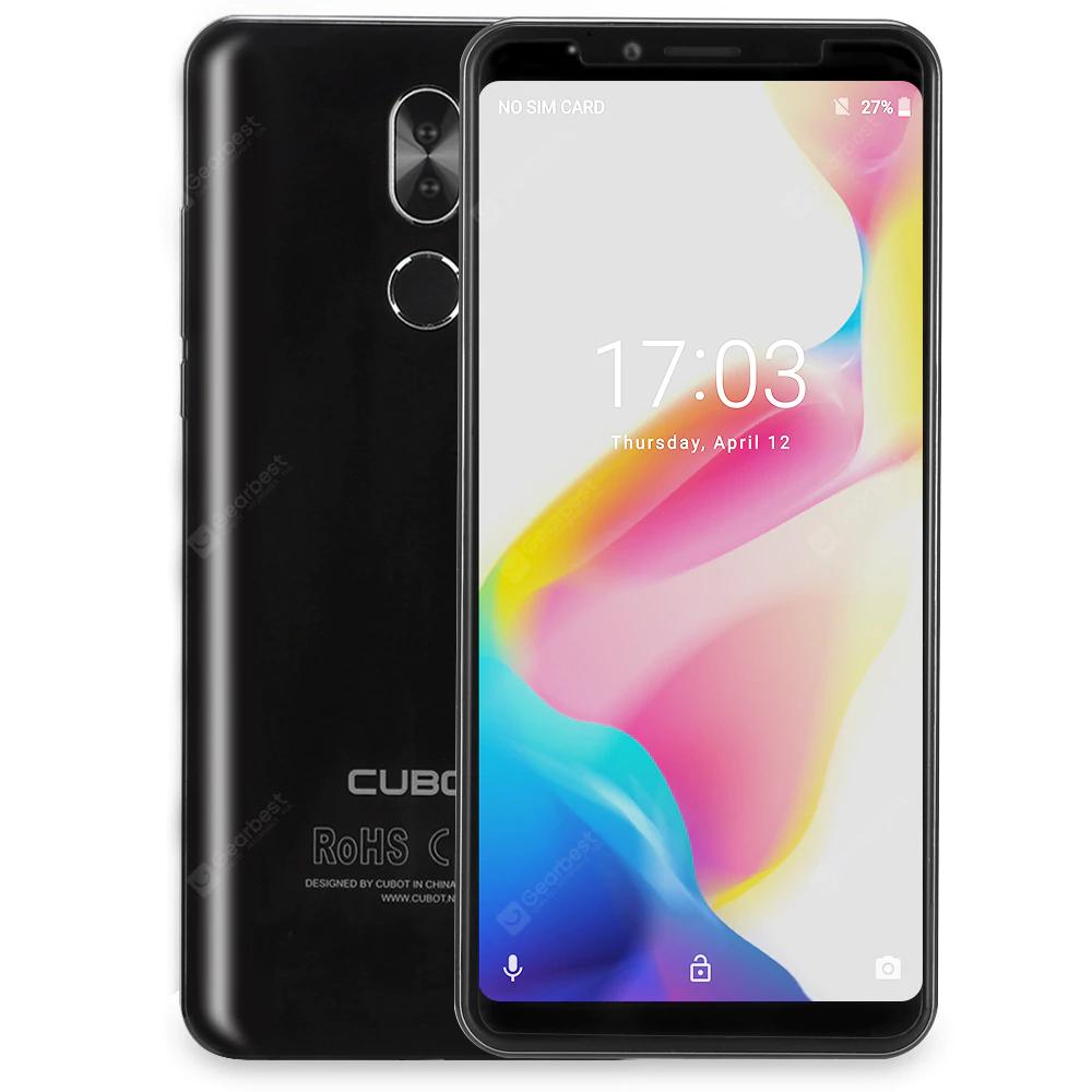 Refurbished CUBOT X18 Plus 4/64 GB 4G Smartphone - Black