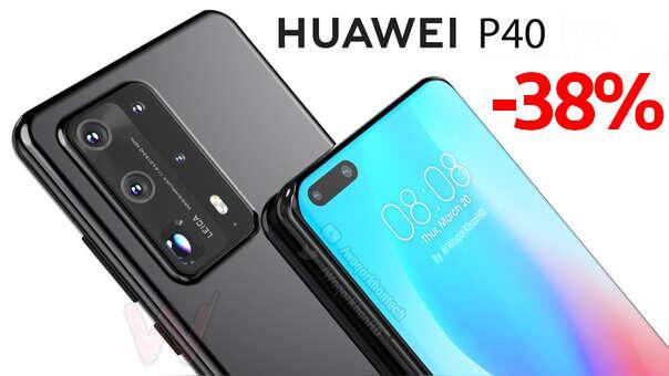 Huawei P40 -300€ 8Gb+128Gb -- gratis Watch GT 179€