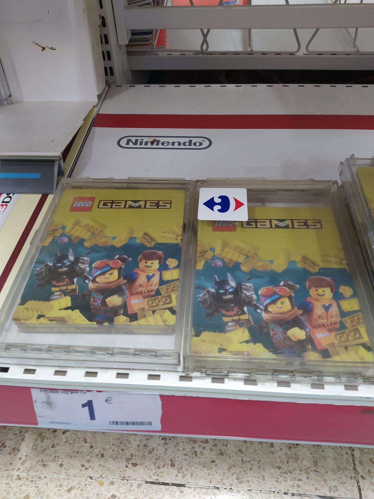 Steelbook Lego War PS4 (Carrefour Rosaleda Malaga)