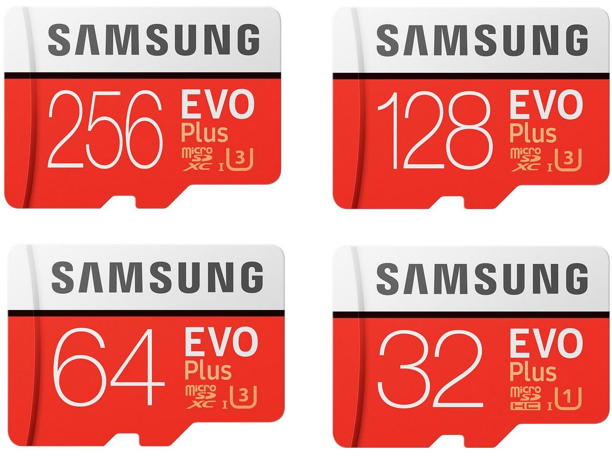 Recopilación tarjetas microSD Samsung Evo Plus