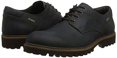 TALLA 39.5 - camel active University GORE-TEX 11, Zapatos de Cordones Derby para Hombre