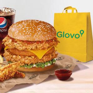 Envío gratis sin mínimo en KFC por Glovo