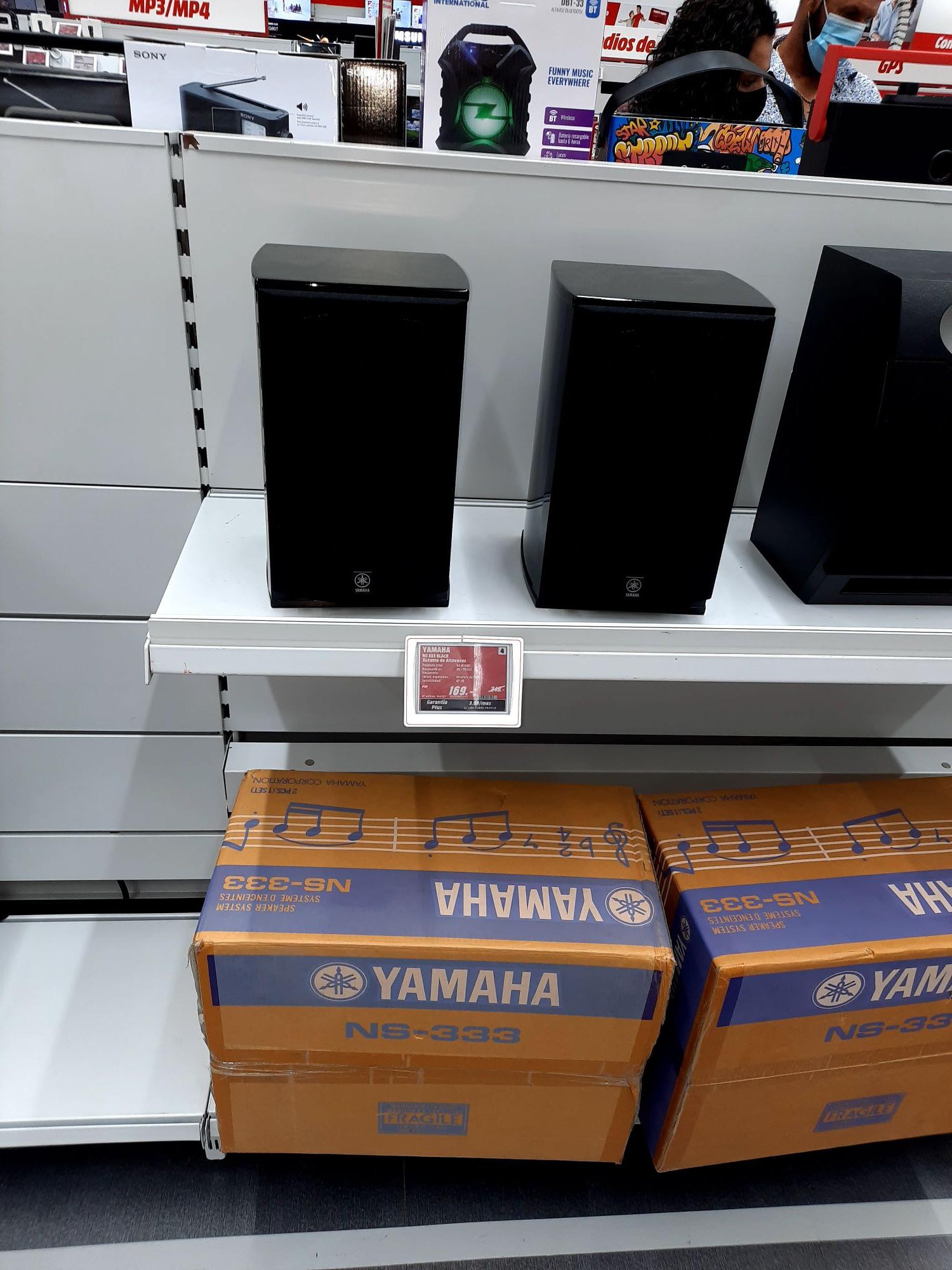 Yamaha NS 333 - En el Mediamarkt de Huelva