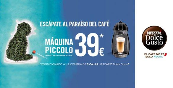 Compra de tres paquetes de cápsulas + cafetera Krups Piccolo = 53,55€