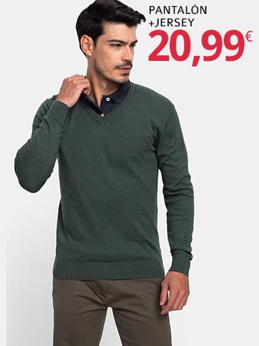 Pantalón + jersey (descuento de 8,99€ en carrito)