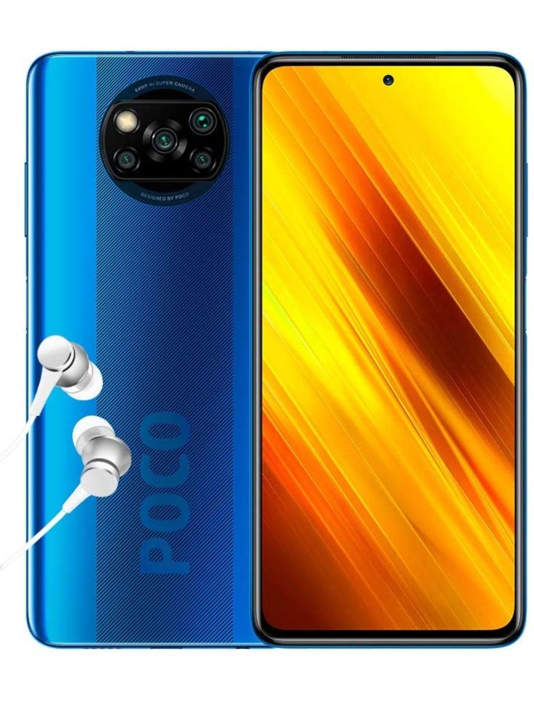 "Poco X3 Smartphone 6+64GB, 6,67"" FHD+ cámara Frontal con Punch-Hole"