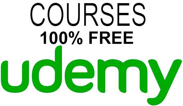 40 cursos gratis en Udemy