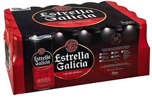 Ahorra un 21% por cada 20€ Estrella Galicia