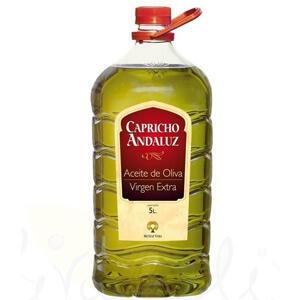 Garrafa de 5L de Aceite Oliva virgen extra CAPRICHO ANDALUZ (AlCampo Toledo)