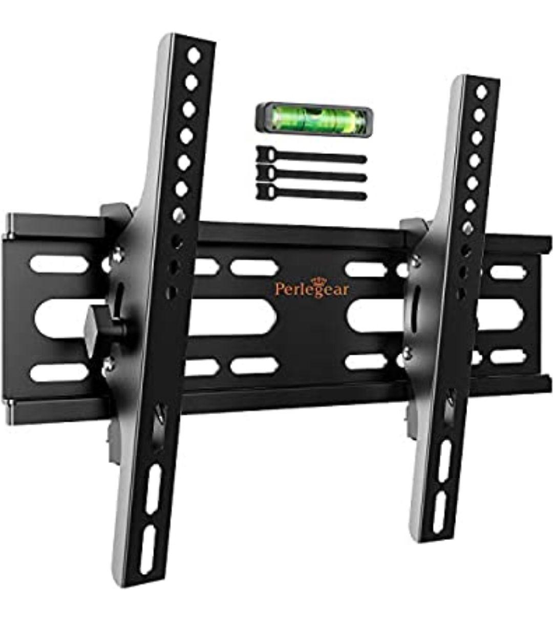 Soporte de TV Perlegear - Soporte de TV en Pared Inclinable para Televisores de 26 a 55 Pulgadas con Carga de 45 kg, VESA máx.