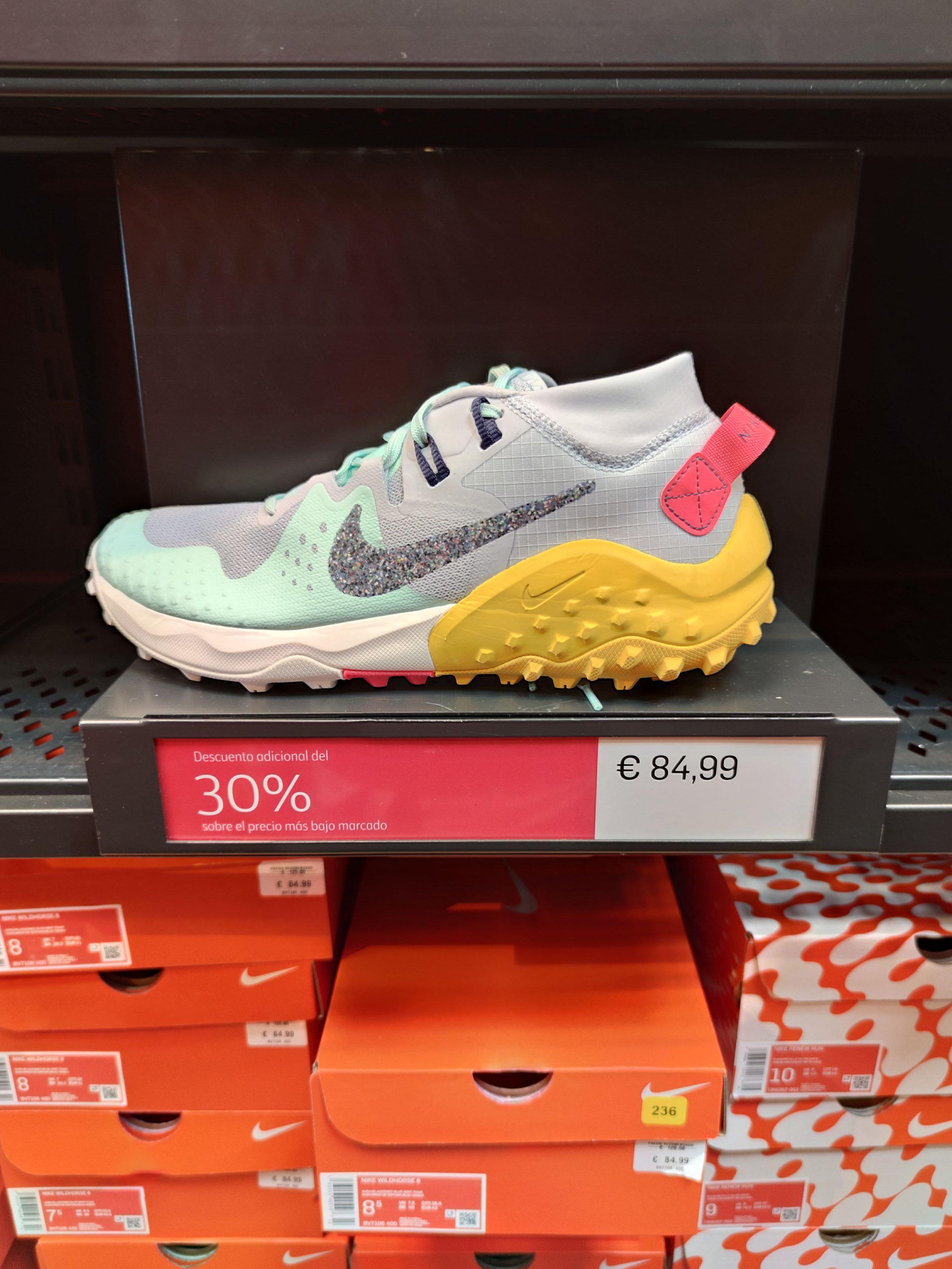 Nike Wildhorse 6 en tienda Nike del Río Shopping de Valladolid