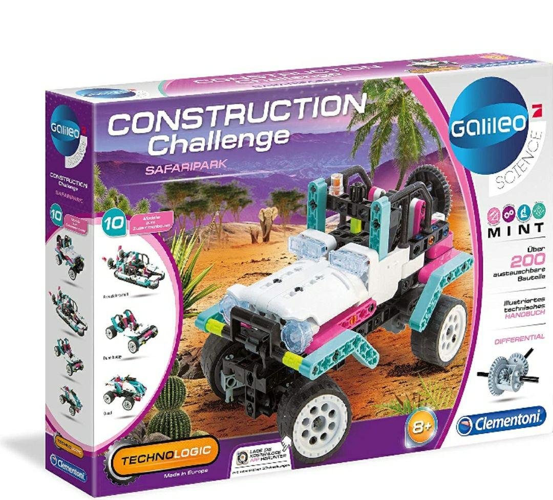 Clementoni- Galileo Construction Challenge - Equipo de construcción para niños a Partir de 8 años
