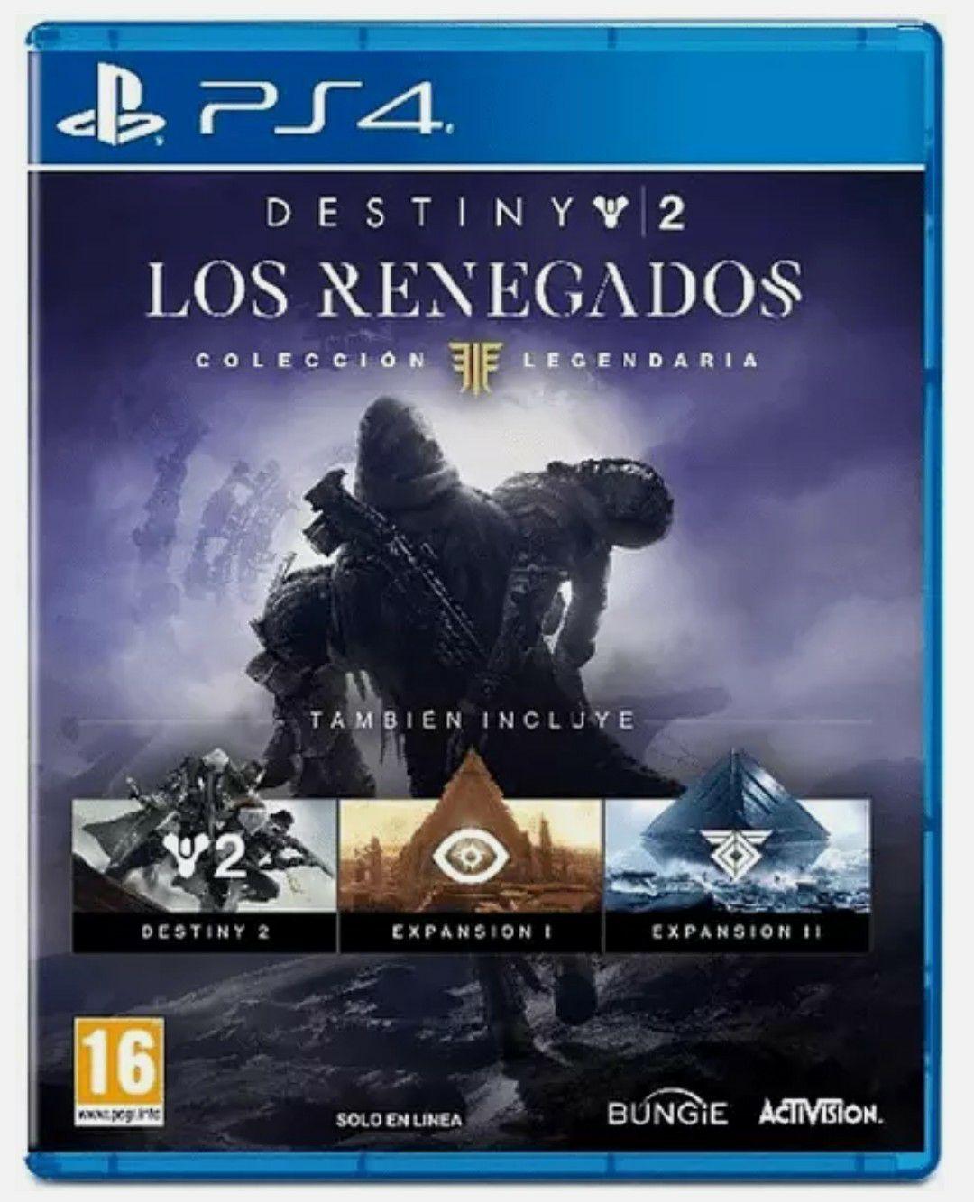 Destiny 2 los renegados PlayStation 4
