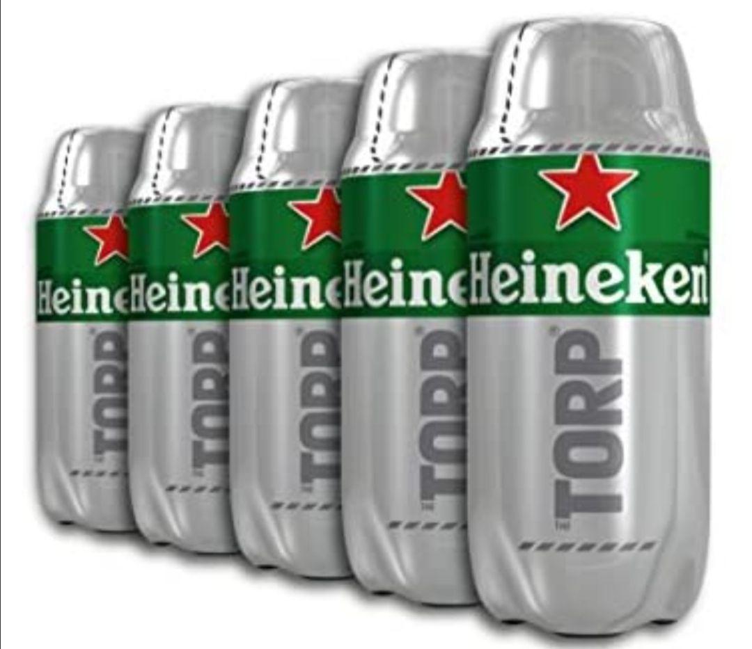 Heineken - Caja de 5 Torps x 2L(al tramitar)