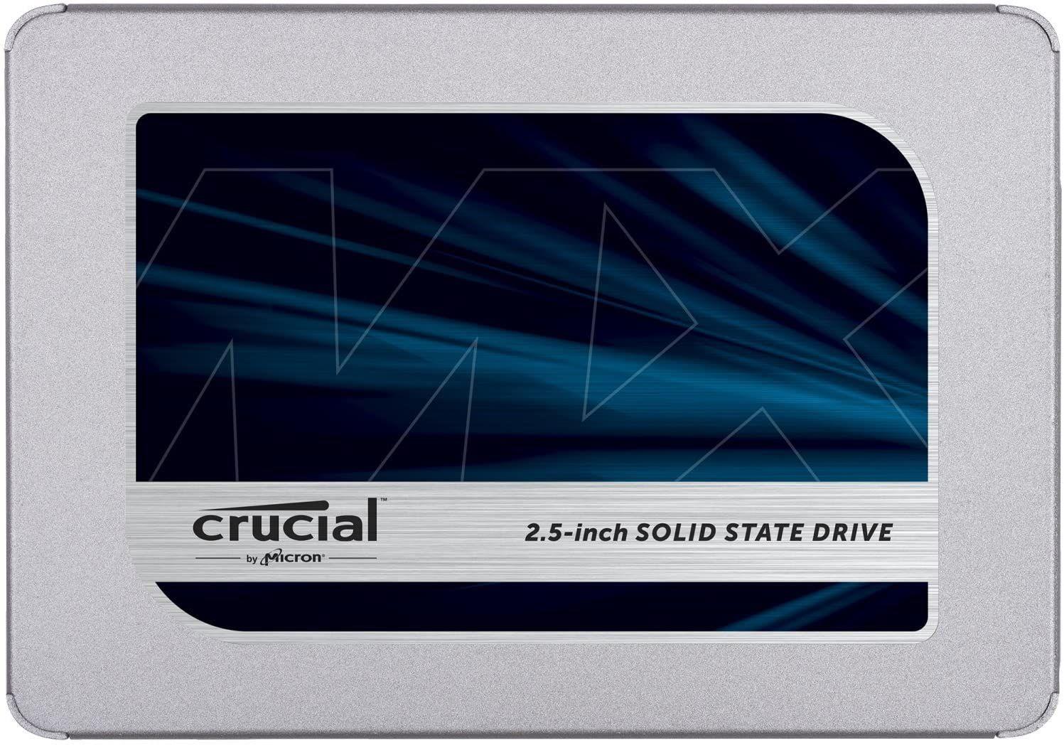 Crucial MX500 1TB CT1000MX500SSD1 hasta 560MB / s, Interfaz SATA 6 Gb / s (SATA III) SSD interno, 3D NAND, SATA, 2.5 pulgadas