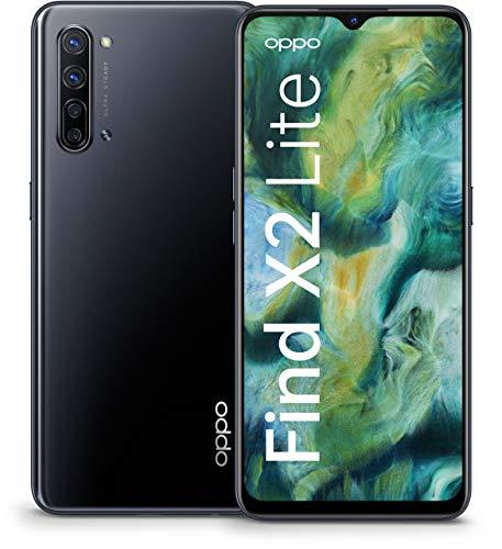 Oppo Find X2 Lite - Smartphone 128GB, 8GB RAM, Single Sim, Moonlight Black
