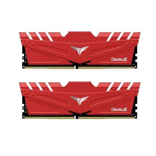 Team Group T-Force Dark Z DDR4 3600MHz PC4-28800 32GB 2x16GB CL18 Rojo