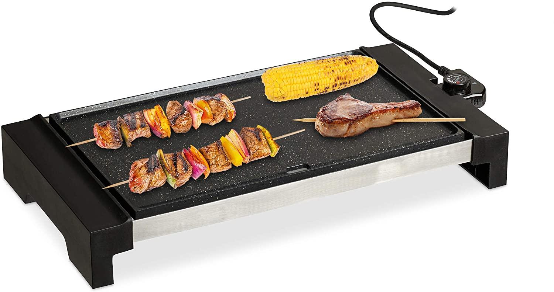 Plancha Cocina, Amplia Superficie, Grill Eléctrico 1500 W