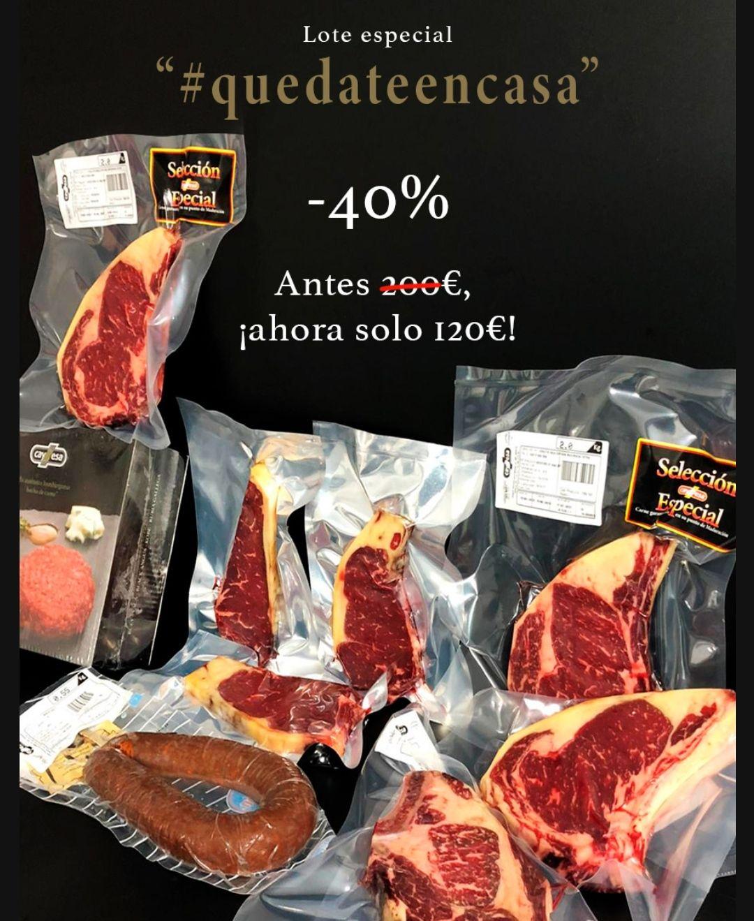 Lote carne madurada