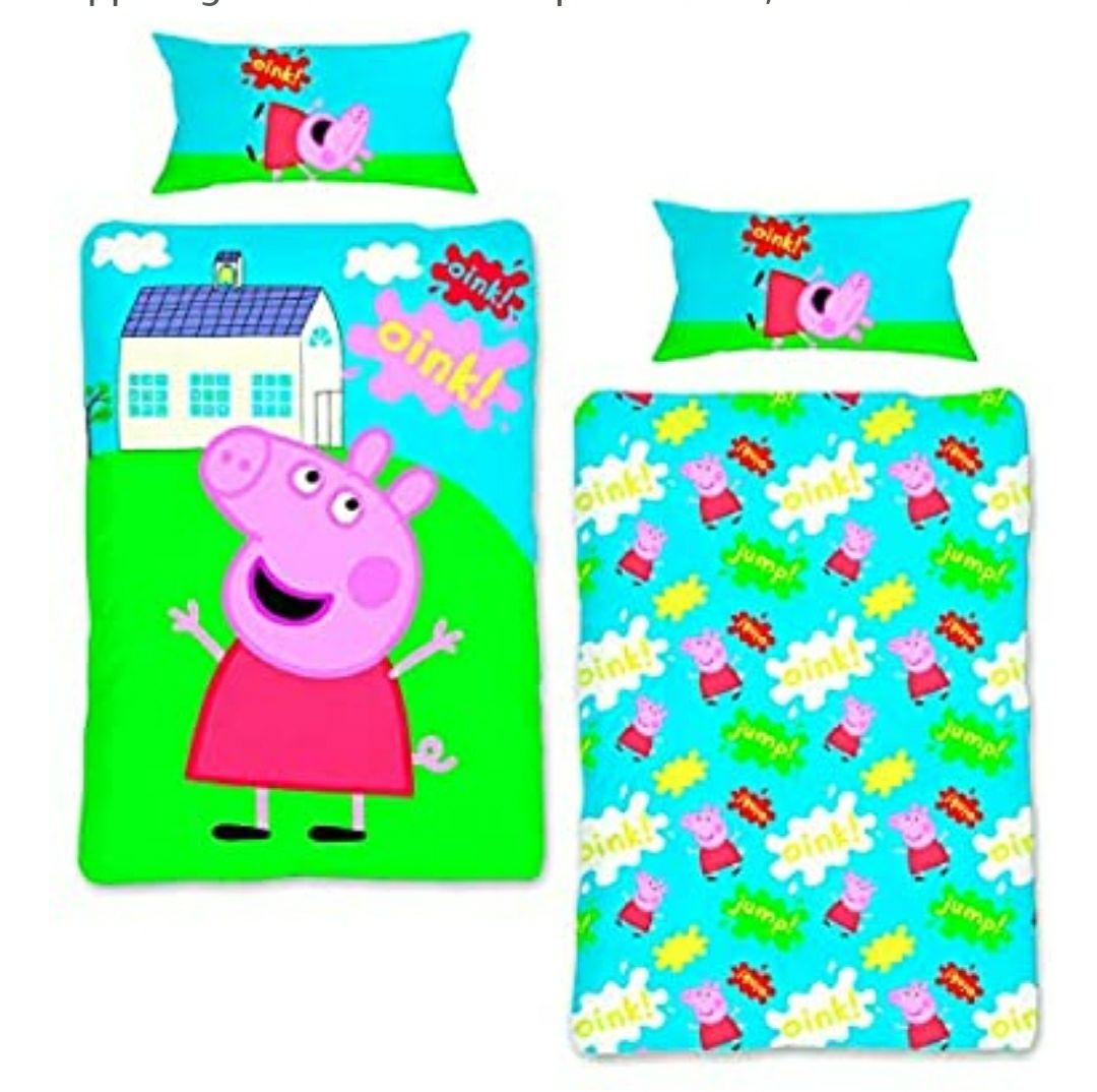 Ropa de cama Unisex Infantil PEPPA PIG Funda nordica de Peppa Pig NI-PEP011BL.