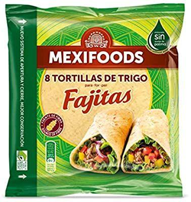 Mexifoods Tortitas de Trigo. 320gr(8unid)