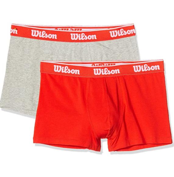 Wilson Boxer Talla M. (Pack 2) algodón elástico