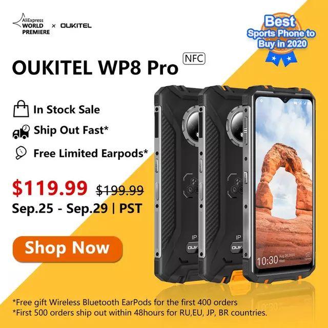 Oukitel WP8 Pro + Regalo Earpods