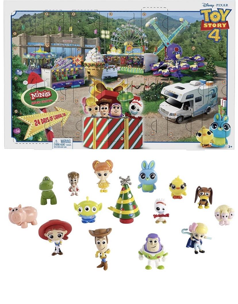 Disney Toy Story - Calendario de Adviento Con Figuras de La Película,