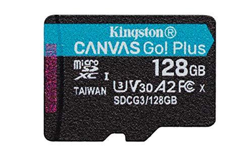 *Mínimo* Kingston Tarjeta microSD 128 GB hasta 170 MB/s