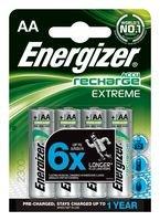 4 x Pilas recargables 2300 mAh Energizer