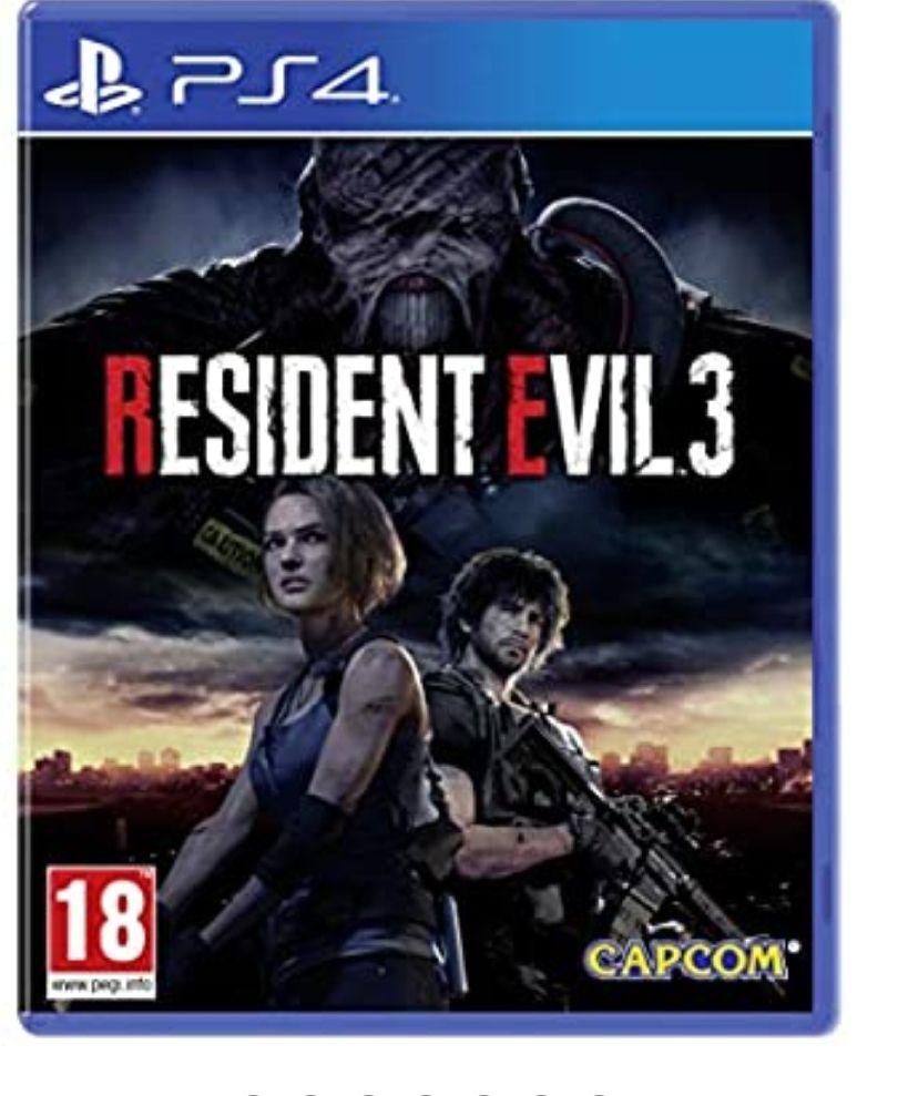 Resident Evil 3 - PlayStation 4 Remake *Mínimo histórico*