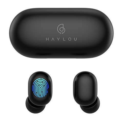 Auriculares Bluetooth 5.0, Haylou GT1 Touch Control Sport Auriculares estéreo estéreo inalámbricos HD con conexión rápida