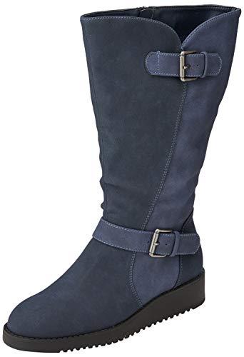 Botas Altas para Mujer Talla 42 Color Blue Paprika