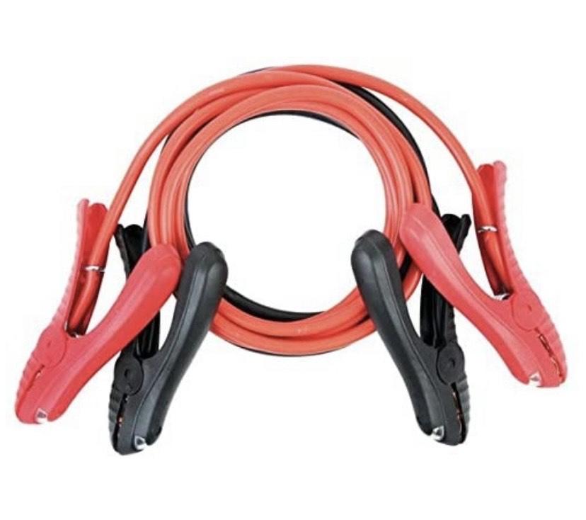 Perel Cable de arranque de 16 mm2 con pinzas LED